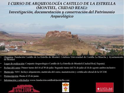 I CURSO DE ARQUEOLOGIA CASTILLO DE LA ESTRELLA